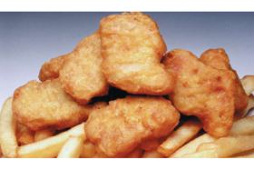 Chicken Nugget And Chips