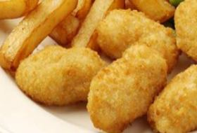 Scampi and chips (8 pieces)