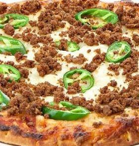 """12 """" Spicy Beef Pizza"""